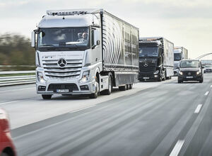 «Тест сдан» 12 беспилотных грузовиков неделю колесили по Европе