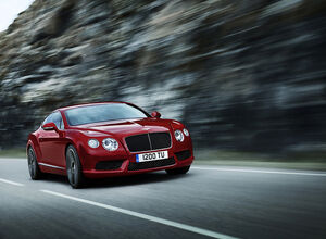 Купе Bentley Continental GT V8 S 2014