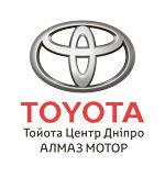 """Логотип Тойота Центр Дніпро """"Алмаз Мотор"""""""