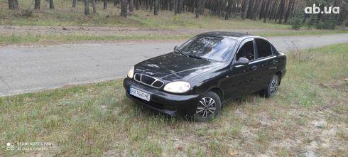 Черный Дэу Ланос, объемом двигателя 1.4 л и пробегом 170 тыс. км за 2700 $, фото 1 на Automoto.ua