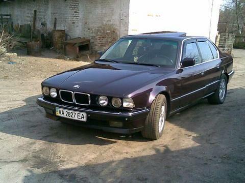 BMW 730 null