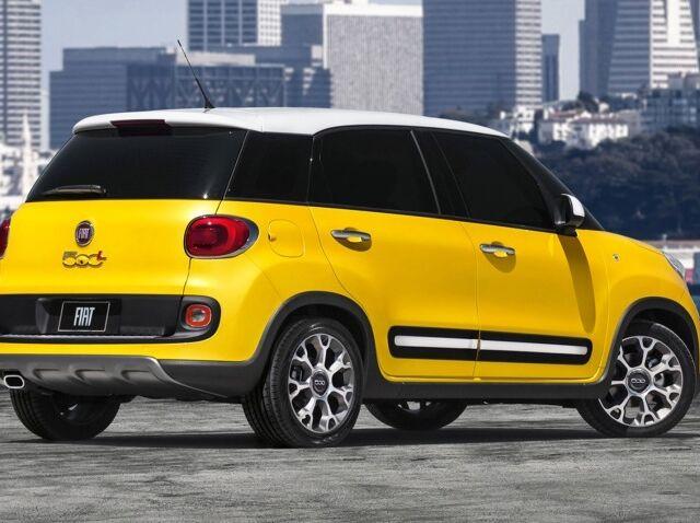 Fiat 500 L 2016