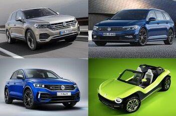 Четыре премьеры Женевского автосалона от Volkswagen