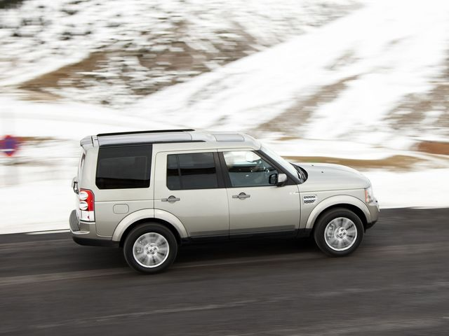 Land Rover Discovery null