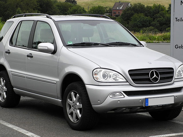 Mercedes-Benz ML 270 null